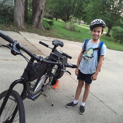 Family, Bike Ride, Active DSM Family