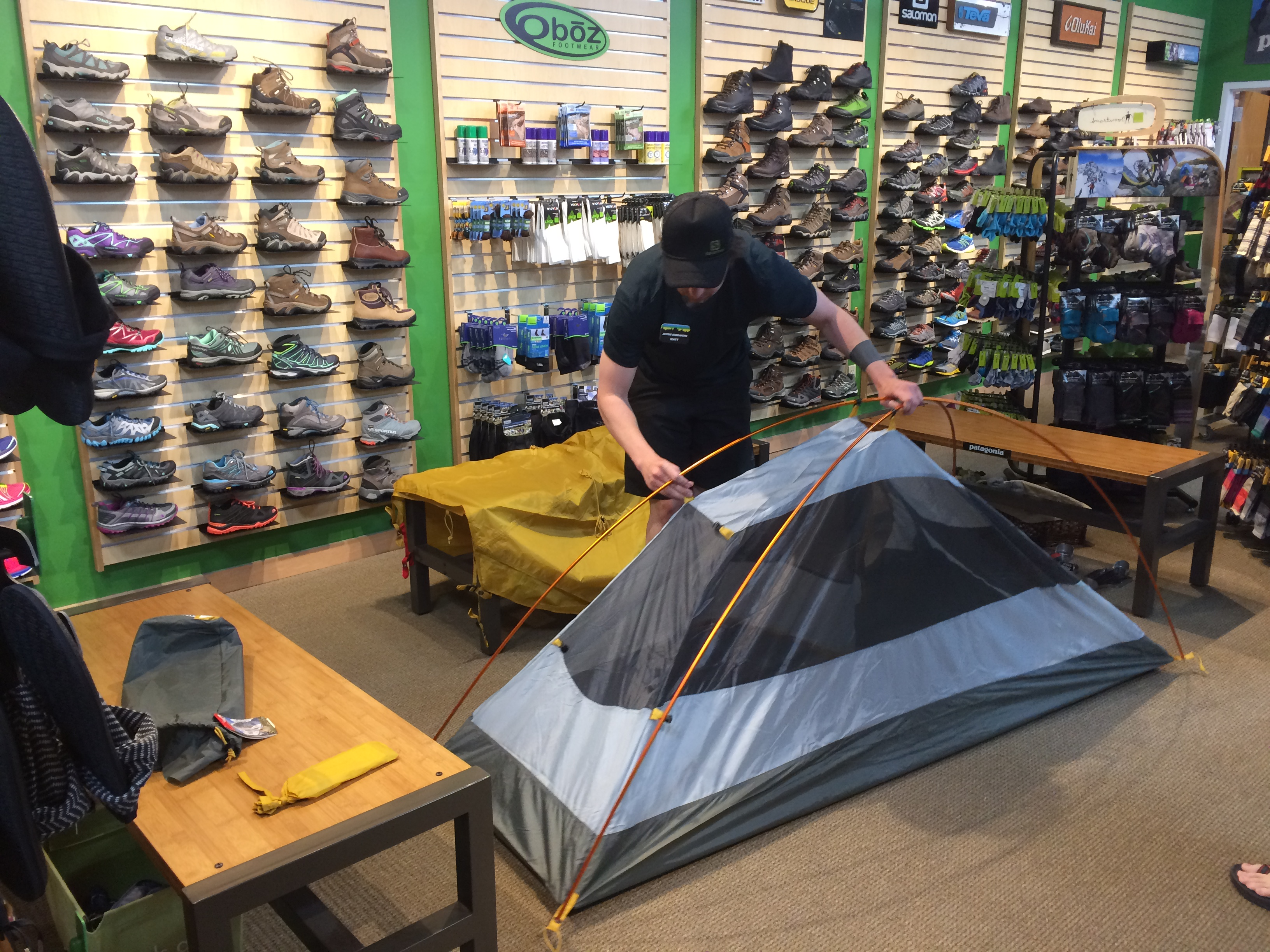 Tent Storage & Active Crew Tips: Proper Tent Care - Active Endeavors: Outdoor ...
