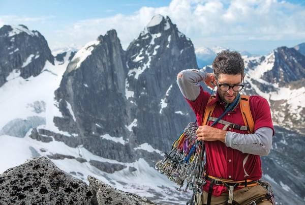Patagonia climber