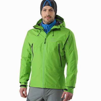 Atom LT Jacket Layered with Hardshell
