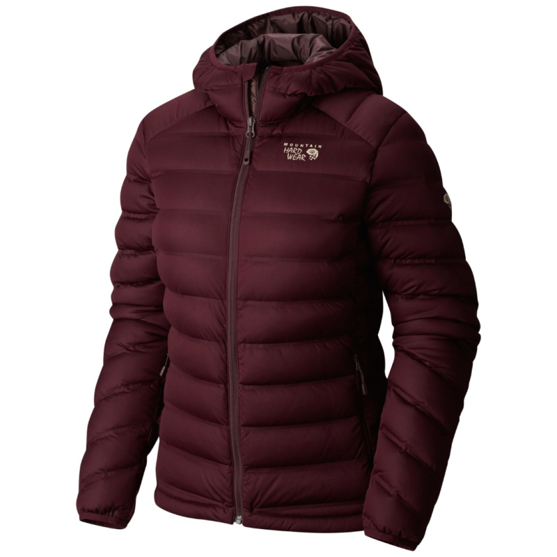Women's Stretch Down Hoody Marionberry