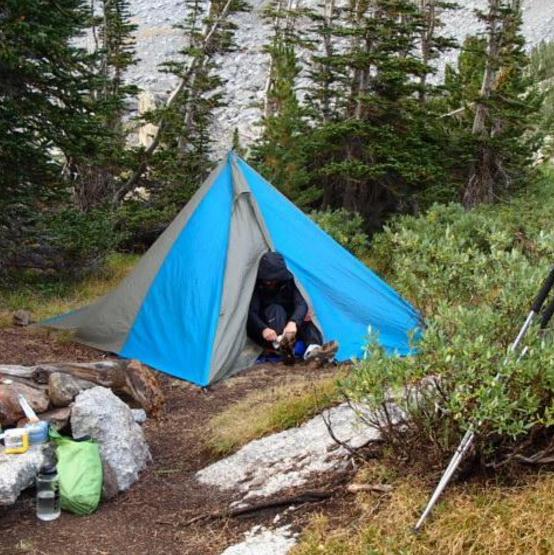 John Anderson Tetons Backpacking and Camping