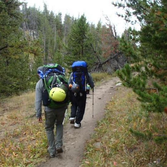 John Anderson Tetons Hiking