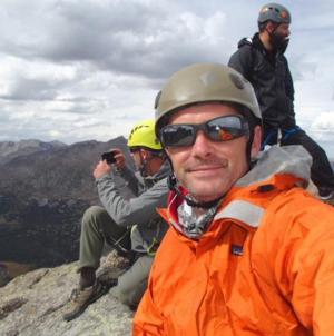 John Anderson Tetons Summit