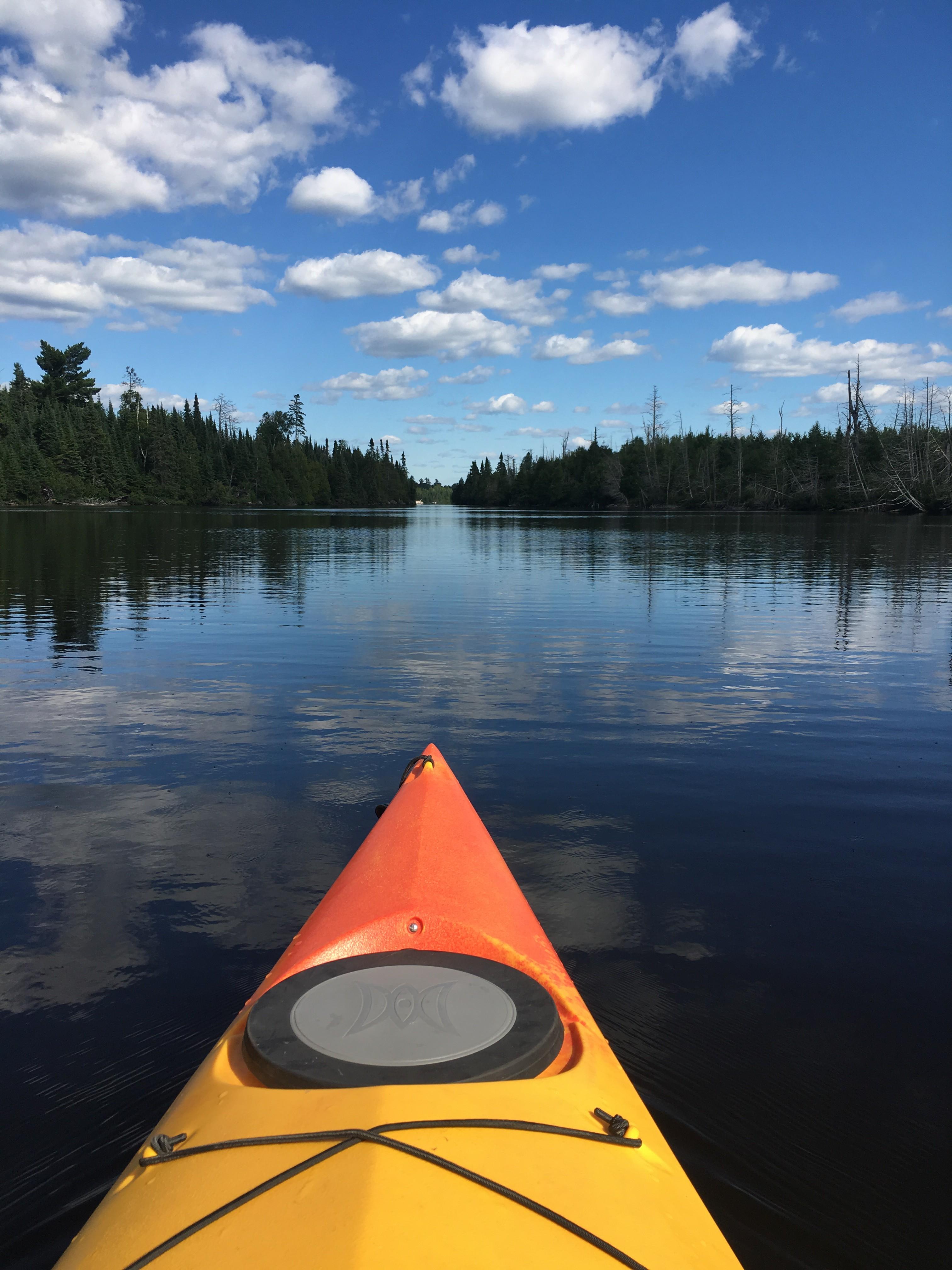 Paul: Kayaking + Exploring Lake Superior