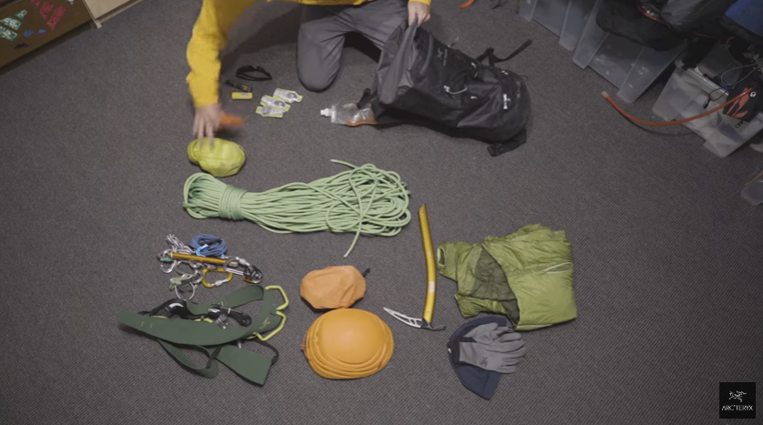 Arc'teryx Tips: Packing your bag for an alpine climb with Stian Hagen