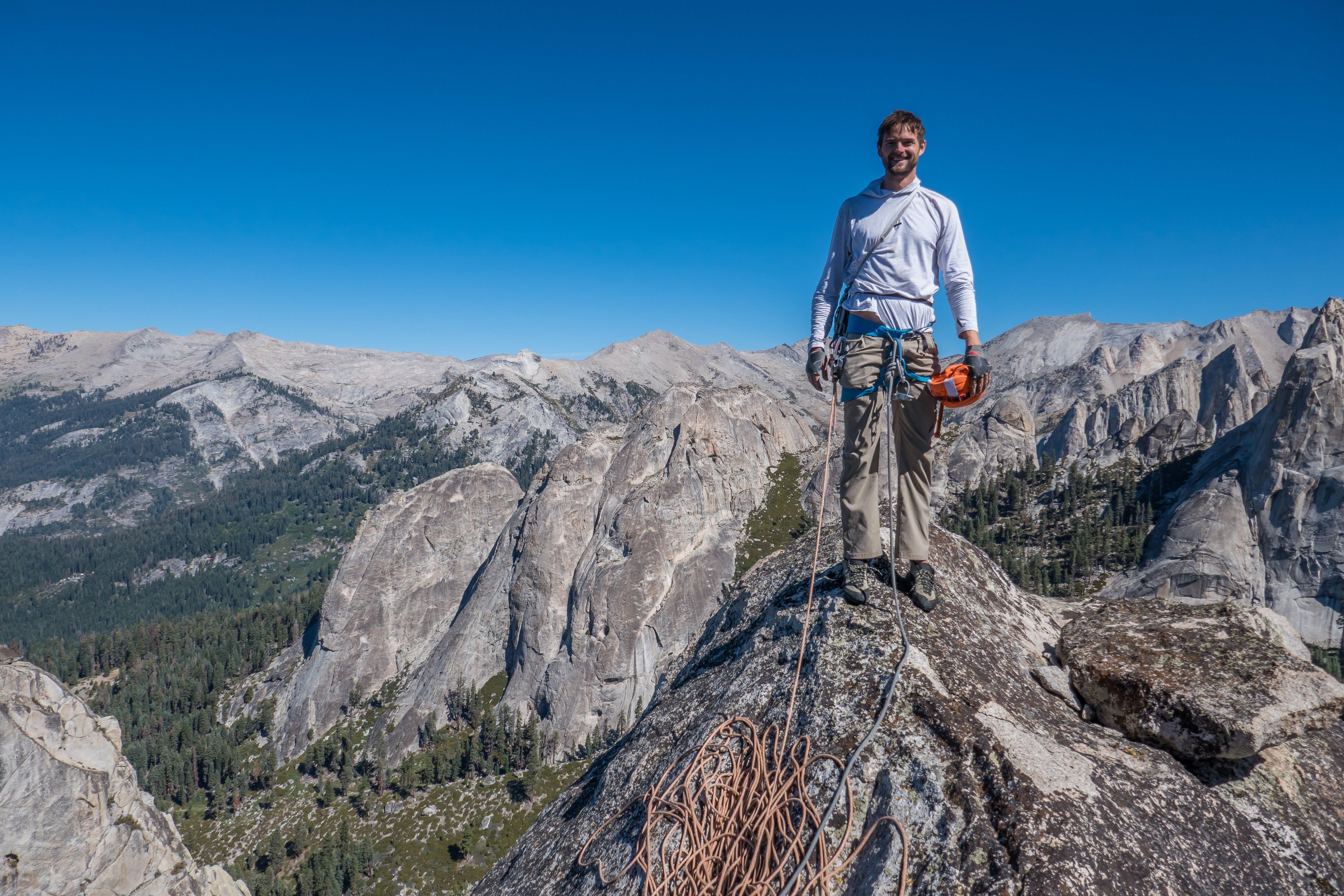 Climbing in the High Sierras