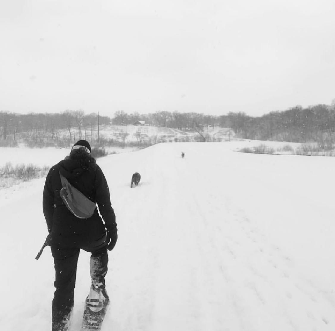 Cross country ski + snow shoe rentals